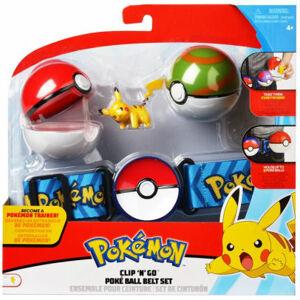 WCT Pokémon Clip 'N' Go Poké Ball s pásikom