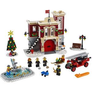 LEGO Creator 10263 Hasičská stanica v zimnej dedine