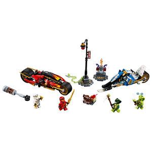 LEGO Ninjago 70667 Kaiova motorka s čepeľami a Zaneov skúter