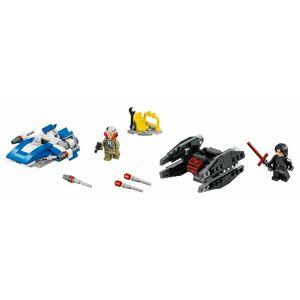 LEGO Star Wars 75196 Stíhačka A-Wing vs. mikrostíhačka TIE Silencer