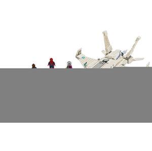 LEGO Super Heroes 76130 Stíhačka Tonyho Starka a útok dronov