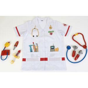 Doktorský oblek s doplnkami