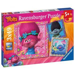 Ravensburger puzzle Trollovia 3 x 49 dielikov