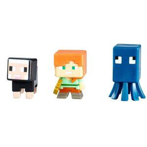 Mattel Minecraft 3ks minifigúrka, viac druhov