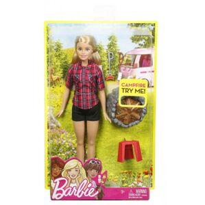 Mattel Barbie Bábika pri táboráku, viac druhov