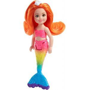 Mattel Barbie CHELSEA MORSKÁ PANNA, DÁREK ZDARMA KE KAMPANI VÁNOČNÍ STROMEČEK