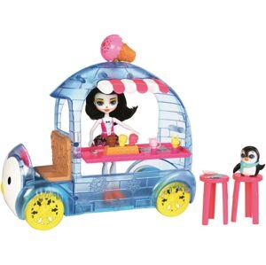 Mattel Enchantimals Zmrzlinový vozík s tučniakom