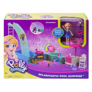 Mattel Polly Pocket Bazén so šmýkačkou