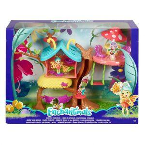 Mattel Enchantimals Chrobáčik a motýlie dom