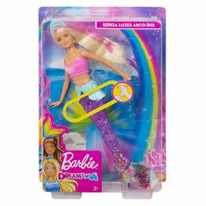 Mattel Barbie svietiace morská panna s pohyblivým chvostom Beloška