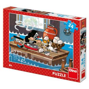 Dino puzzle Krtko a orol 24D