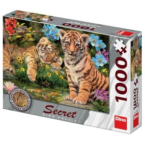 Dino Tygřice 1000 secret collection Puzzle NOVÉ