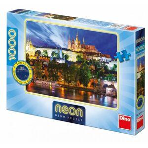 Dino puzzle Letná noc v Prahe 1000 dielikov neón