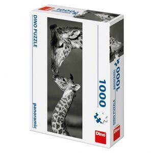 Dino puzzle Žirafy 1000 D panoramic
