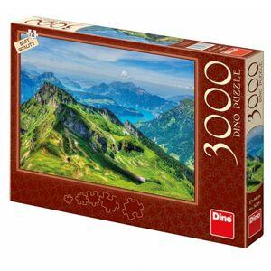 Dino puzzle Švajčiarsko 3000D
