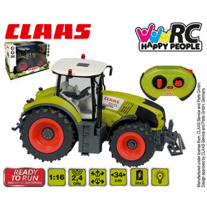 HAPPY PEOPLE RC Traktor CLAAS