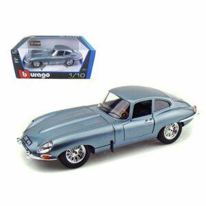 Bburago 1:18 Jaguar E-Type Coupe Blue