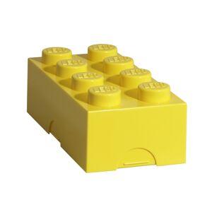 LEGO box na svačinu 100 x 200 x 75 - žlutá
