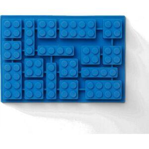 LEGO Iconic silikónová forma na ľad - modrá