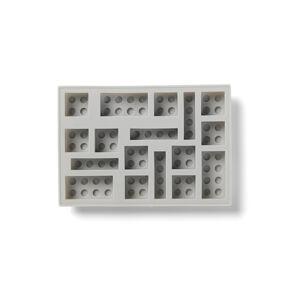 LEGO Iconic silikónová forma na ľad - šedá