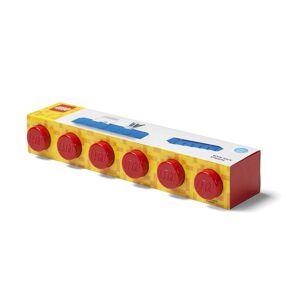 LEGO závěsná polička - červená