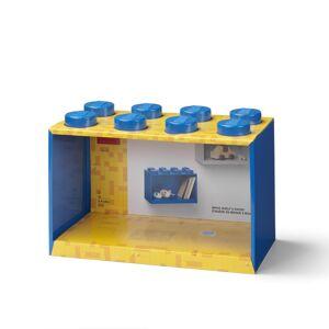 LEGO Brick 8 závěsná police - modrá