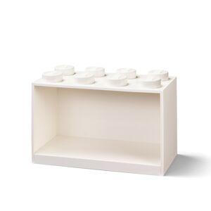LEGO Brick 8 závěsná police - bílá