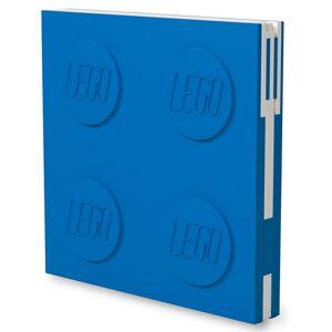 LEGO Zápisník s gelovým perem jako klipem - modrý