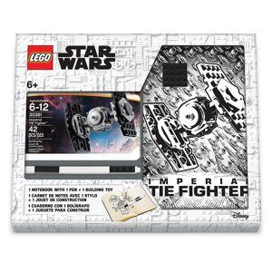 LEGO Stationery Star Wars Tie Fighter - zápisník s perem a stavebnicí