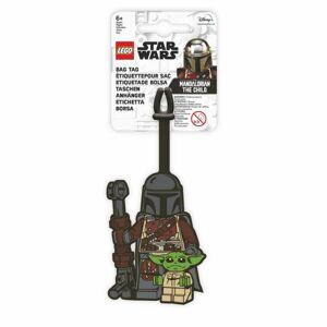 LEGO Star Wars Jmenovka na zavazadlo - Mandalorian a Baby Yoda