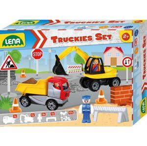 Lena Truckies Set stavba, okrasný kartón
