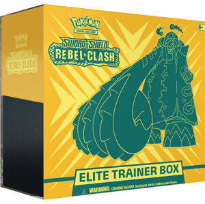 Pokémon TCG: SWSH02 Rebel Clash Elite Trainer Box