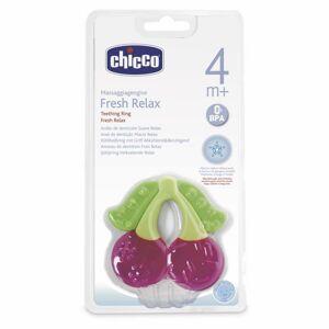 CHICCO Kousátko chladící gel, cherry 4m+
