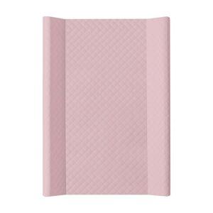 CEBA Podložka přebalovací 2hranná MDF 70 x 50 cm CARO Pink Ceba
