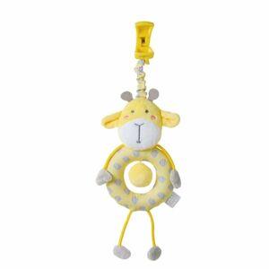 Saro Baby závěsná hračka s klipem Jungle Party Giraffe