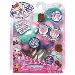 Spin Master - Candylocks cukrovej bábiky s vôňou dvojbalenie nanukové - 20114328