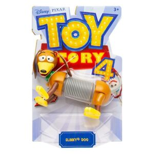 Mattel Toys Story 4: Príbeh hračiek figúrka - Slinky dog