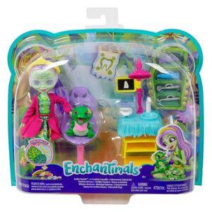 Mattel Enchantimals tematické balenie Aligator