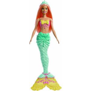 Mattel Barbie čarovná morská víla - Oranžové vlasy