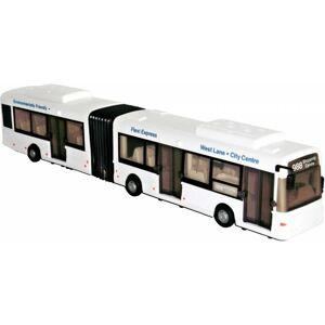 Mac Toys Kĺbový autobus 1:48 - Biela farba
