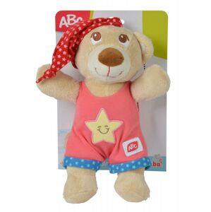 Simba Plyšový medvedík usínáček 25cm - Ružová farba