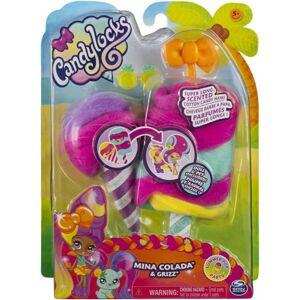 Spin Master Candylocks Voňavá bábika sa zvieratkom - Mina Colada a Grizz