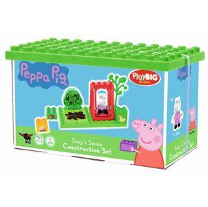 PlayBig Bloxx Peppa Pig Zákl. set - Zelená farba 13 ks