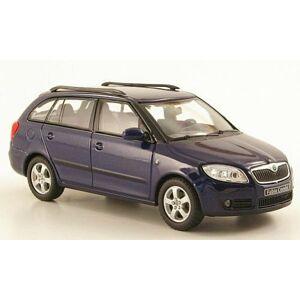Abrex Škoda Fabia II Combi (2007) 1:43 - Modrá metalíza