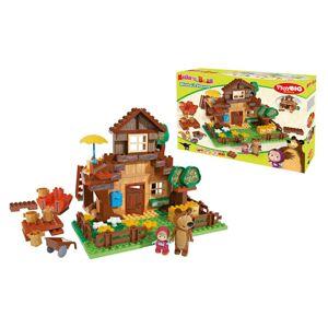 PlayBIG BLOXX Máša a medveď Mišov dom