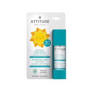 ATTITUDE Dětská 100 % minerální ochranná tyčinka na obličej a rty (SPF 30) bez vůně 18 g