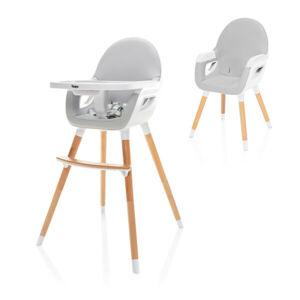 Zopa Dětská židlička Dolce 2 Dove Grey/White