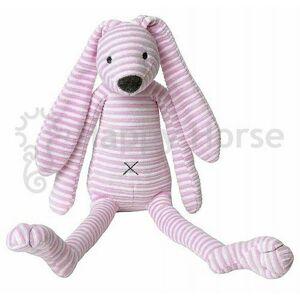 Happy Horse Ružový pruhovaný králiček Reece no.1 / 32 cm
