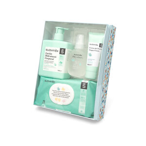 SUAVINEX Kosmetická sada v dárkové krabičce - modrá