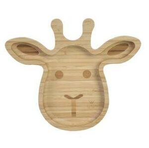 Bam Bam Bambusový talíř Žirafa